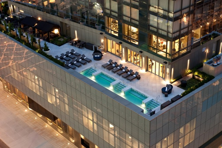 Trump Soho Pool