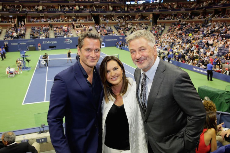 Peter Hermann, Mariska Hargitay and Alec Baldwin