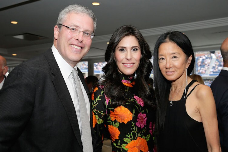 Y. David Scharf, Cheryl Scharf and Vera Wang