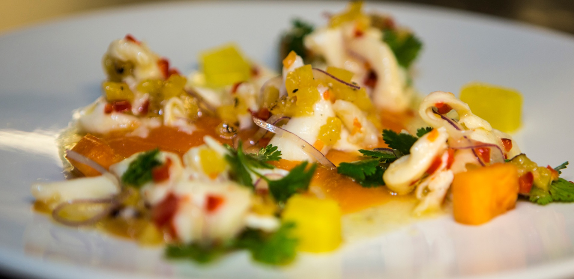 Mina Test Kitchen's ceviche