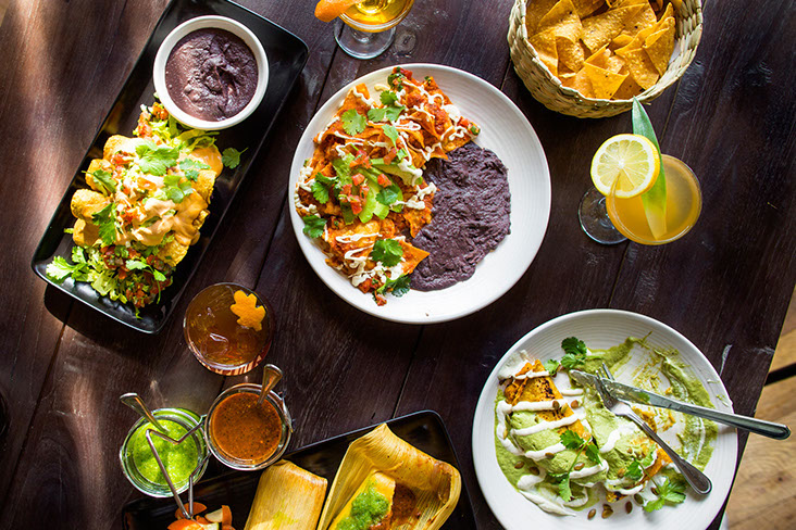 Feast on vegan Mexican at Gracis Madre
