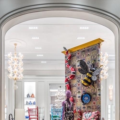 Gucci Decor - Bergdorf Goodman NYC