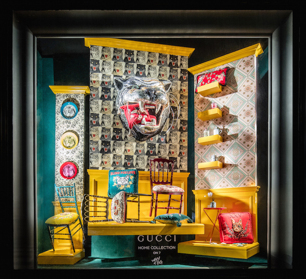 Gucci And Bergdorf Goodman Host Dinner To Launch Gucci Décor