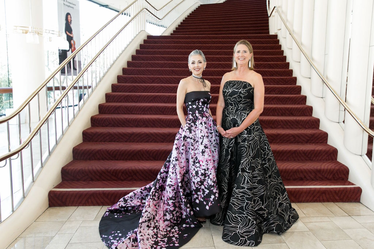San Francisco Symphony President Sako Fisher and Priscilla Geeslin