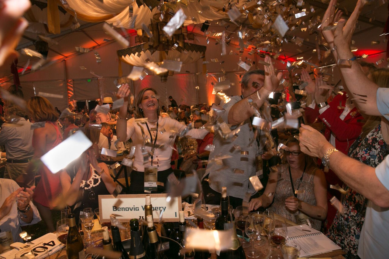 The 2016 Sonoma County Wine Auction