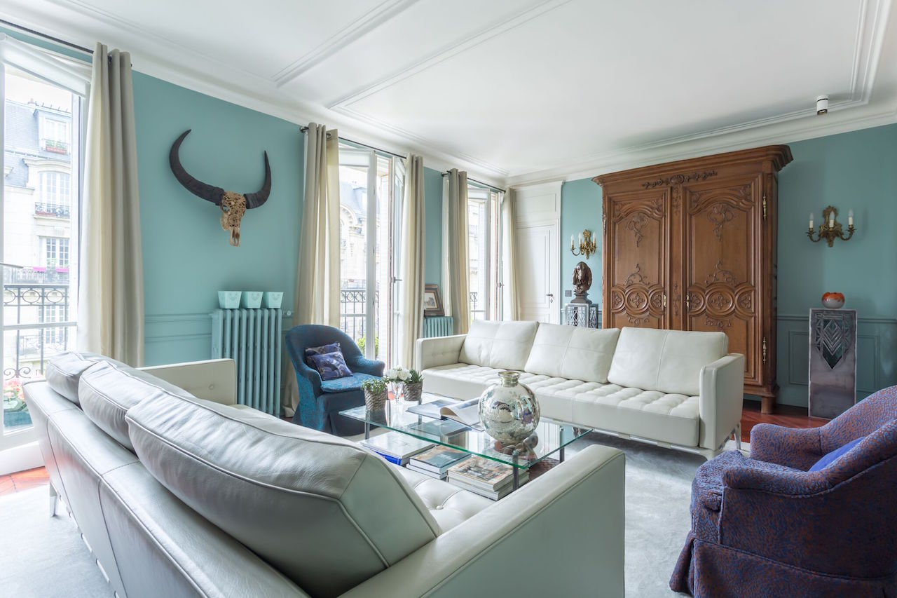 An apartment in Paris