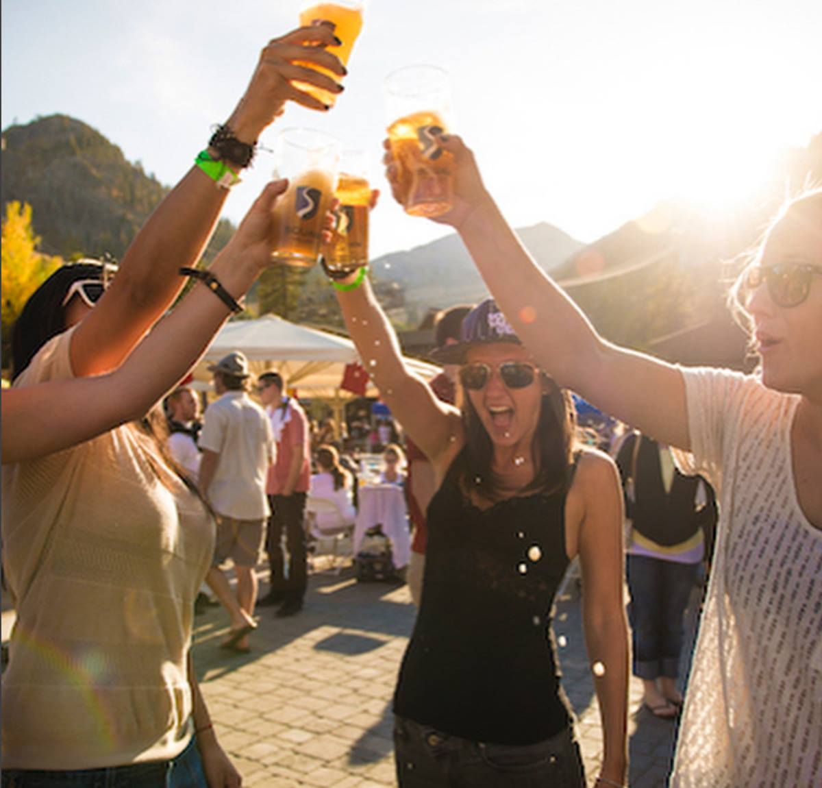 Revelers enjoy fun in the sun at Lake Tahoe's food festival