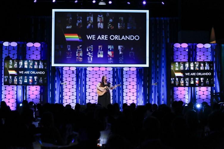 Last year's GLAAD gala