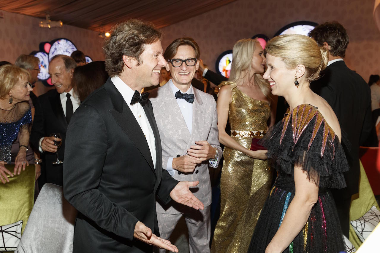 Trevor Traina, Hamish Bowles and Marissa Mayer