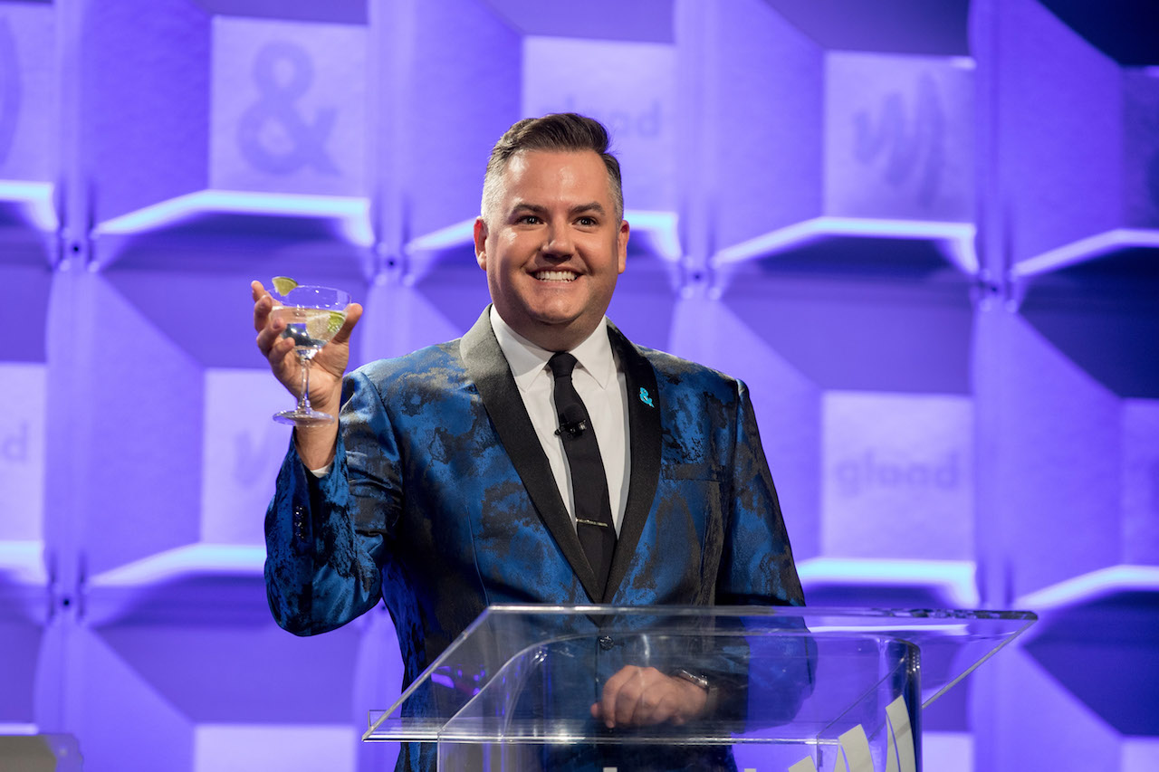 Ross Matthews celebrates achievements in the LGBTQ community at the GLAAD Gala San Francisco