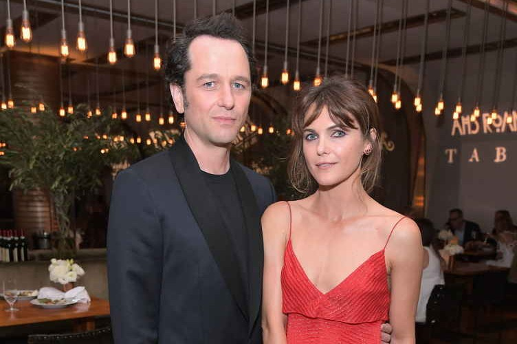 Matthew Rhys (L) and Keri Russell attend FX Networks celebration of their Emmy nominees in partnership with Vanity Fair at Craft on September 16