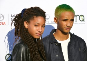 Willow Smith (L) and Jaden Smith
