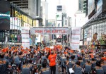 Cycle For Survival Is Taking Over Times Square