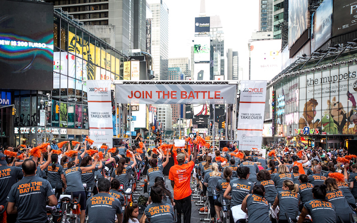 d6d9cb733 Cycle For Survival Is Taking Over Times Square