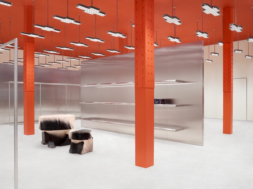 Inside the industrial Acne Studios