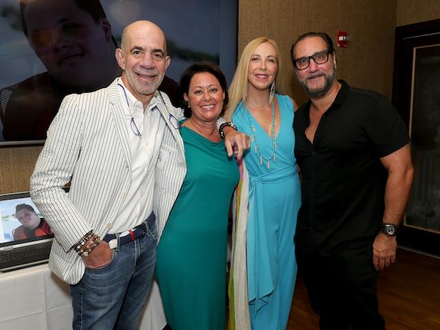 The 2017 host committee– Angels Birdman, Louis Birdman, Ruth Zelcer, and Alan Zelcer