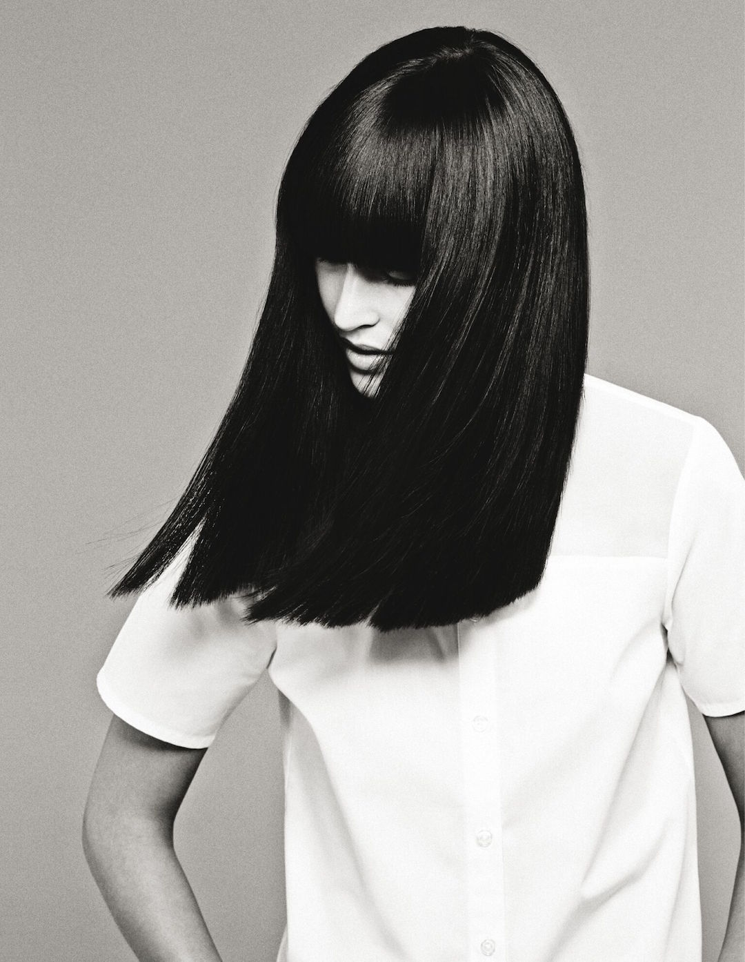 A Vidal Sassoon blow out