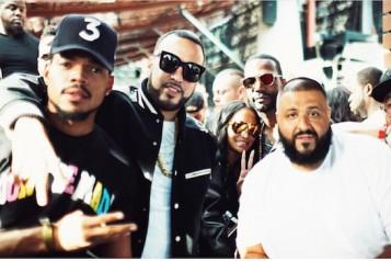 Chance the Rapper, French Montana, Juicy J, DJ Khaled, DJ Franzen  Photo Credit Ivan Barrios