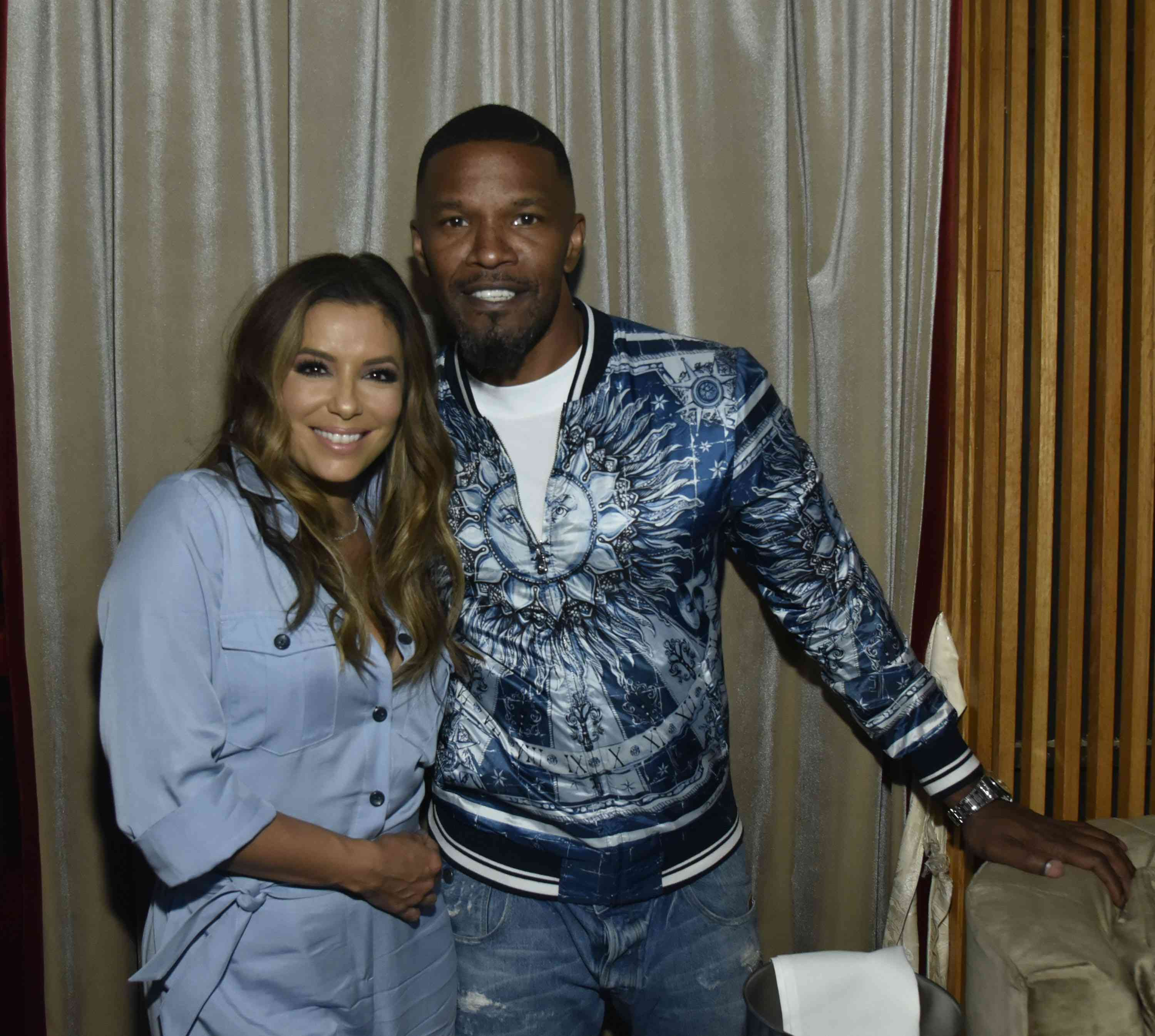 Jamie Foxx and Eva Longoria