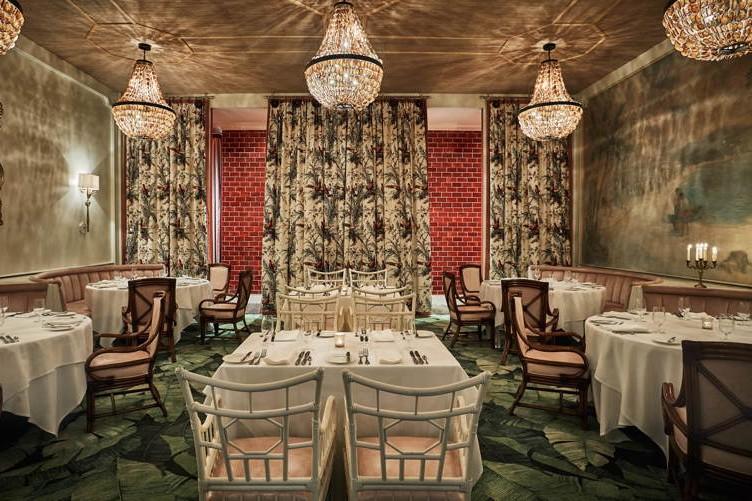 Caribbean Room dining room