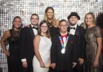 Elle McPherson with Special Olympics Athlete Awards Gala guest in 2016