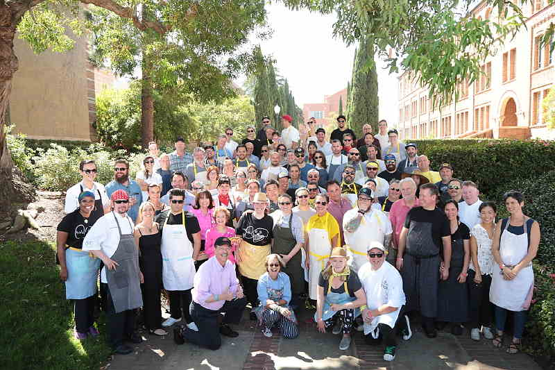 The chefs of the 2017 LA Love's Alex's Lemonade Stand Chef's Cookout