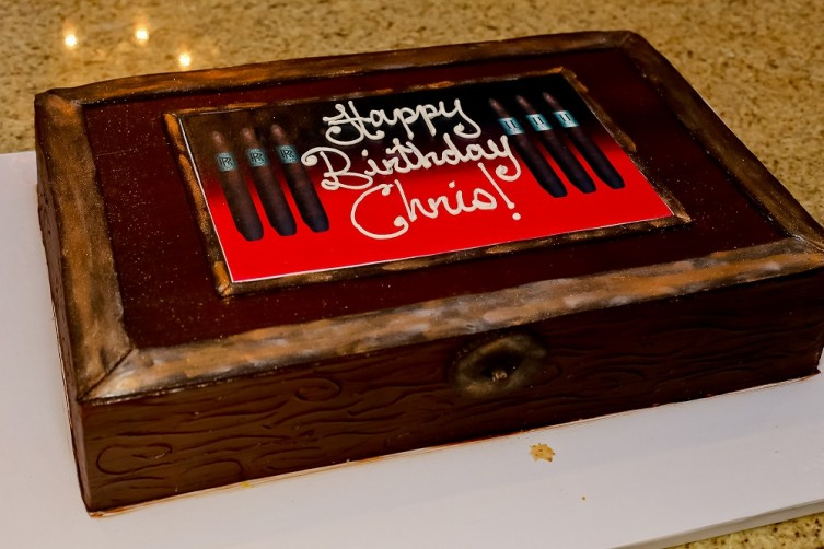 Cigar Cake courtesy of Highland Bakery