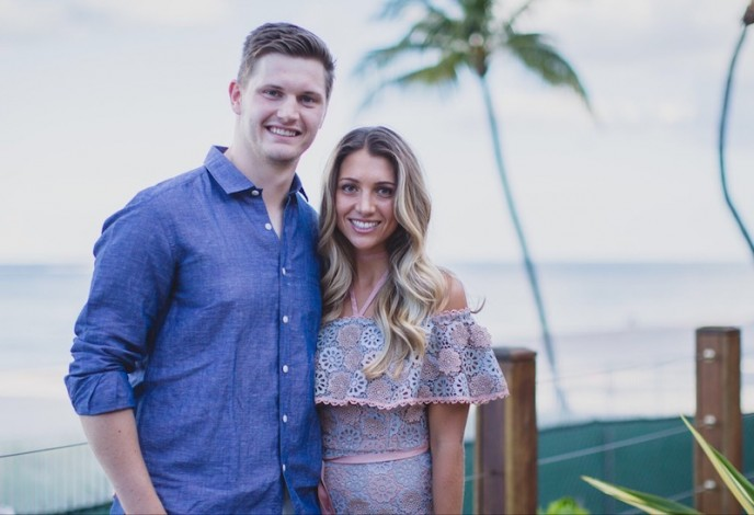 Jacob Trouba & Kelly Tyson
