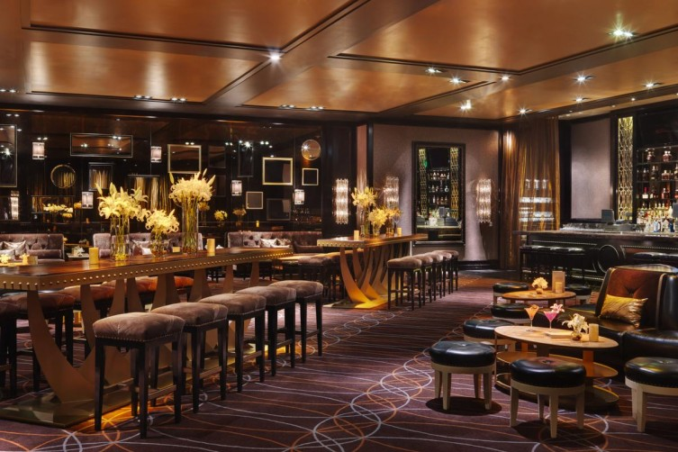 Football Games Are Being Streamed At These 4 Super Fancy Lounges lily bar and lounge las vegas hakkasan group haute living tita carra