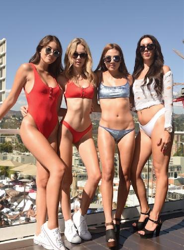 Savannah Reller, Taylor Livingston, Natalie Ravis, & Angelique Balazik
