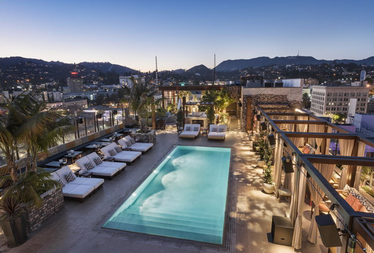 The Highlight Room/rooftop pool