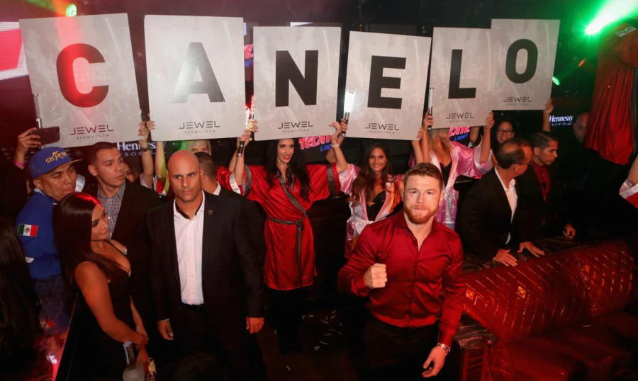 canelo after party at jewel kesha performs las vegas