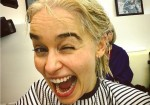 Emilia Clarke Goes Blond, Channeling Khaleesi In Real Life