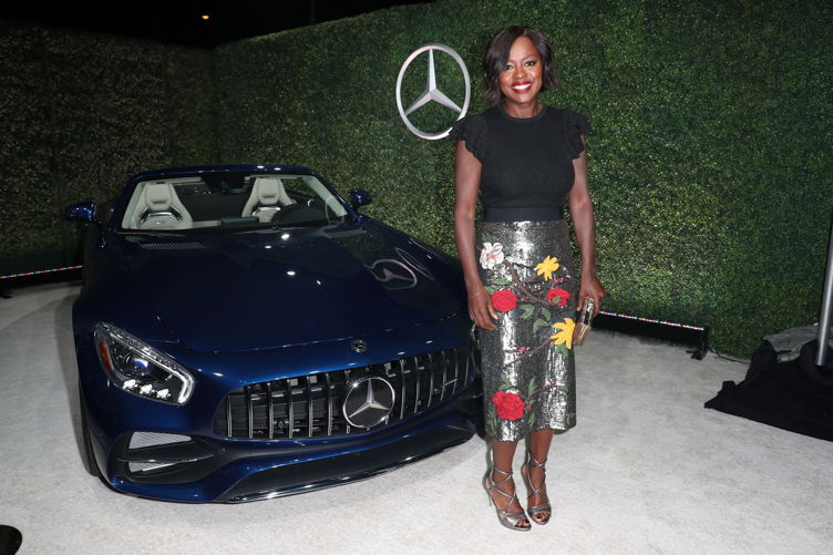 Viola Davis attends Variety and Women in Film Emmy Nominee Celebration sponsored by Mercedes Benz