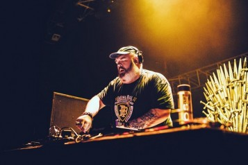 """Game Of Thrones"" Kristian Nairn Opening For Steve Aoki At Hakkasan haute living tita carra las vegas"