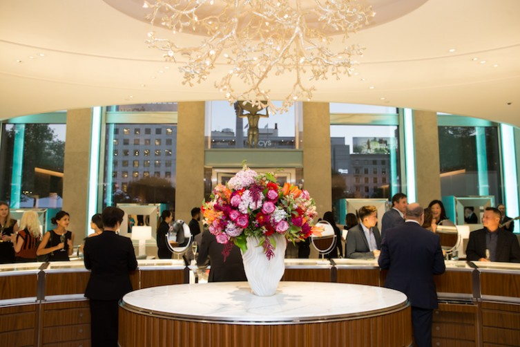 Tiffany & Co. along with The SF Ballet hosts a Cocktail Event 2017