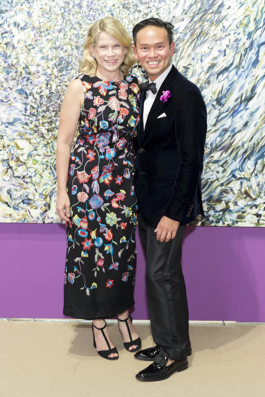 Ariane Trimuschat and Jonathan Rachman