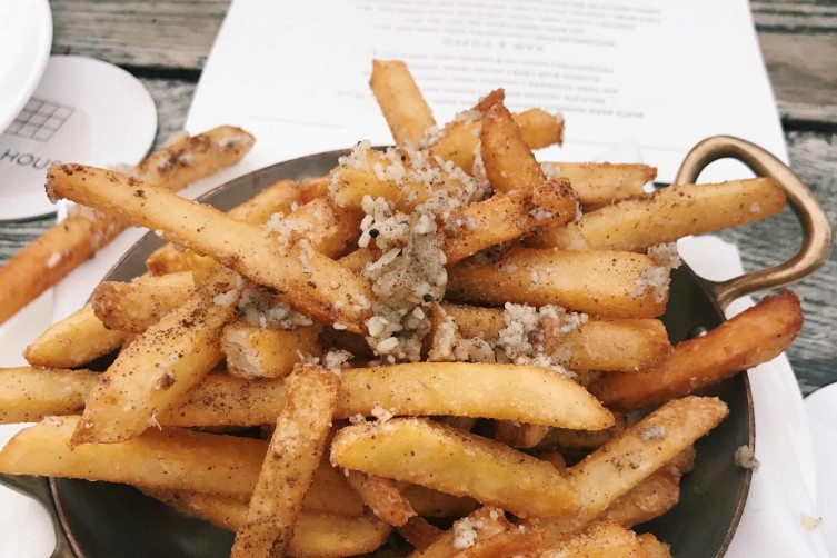 Soho Beach House truffle fries
