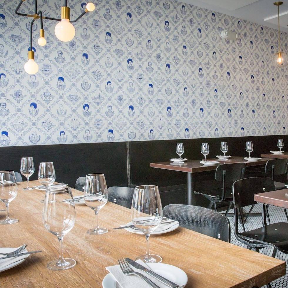 Fiorella's dining room