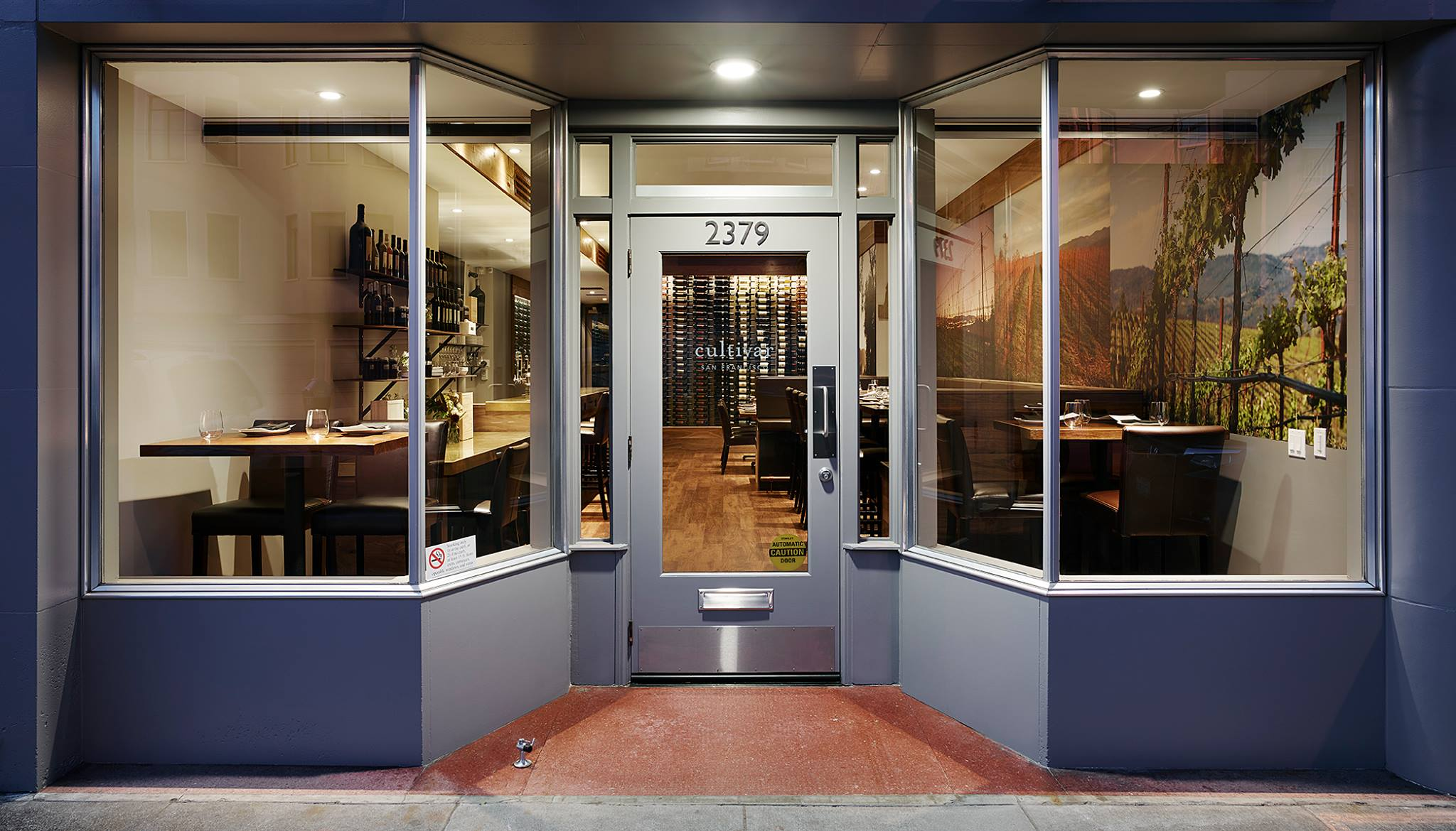 Cultivar's tasting room and wine bar