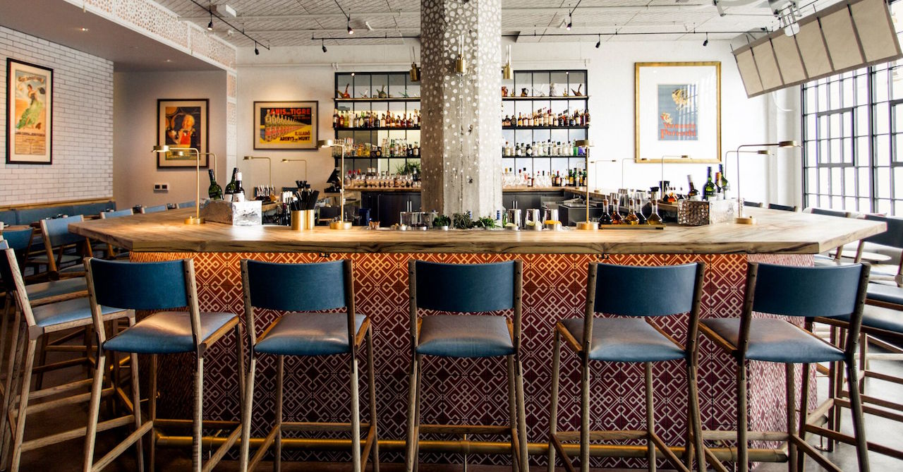 The bar at Bellota