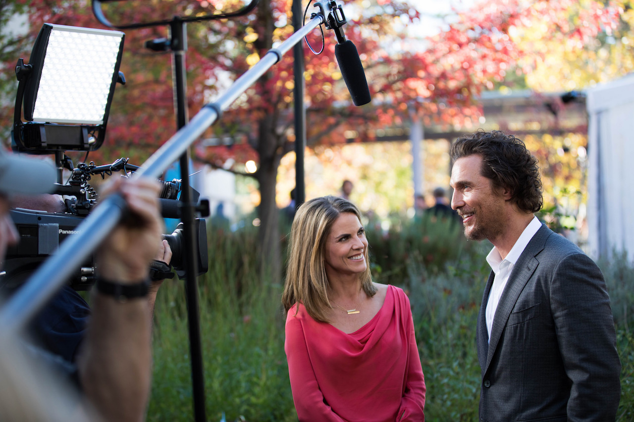 Natalie Morales interviews Matthew McConaughey at the 2016 Napa Valley Film Festival