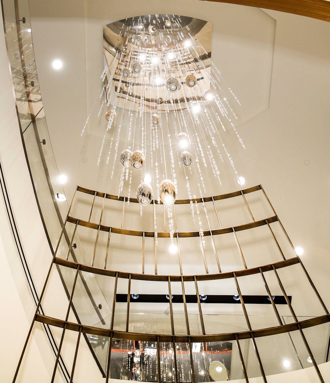 Shreve & Co.'s stunning chandelier