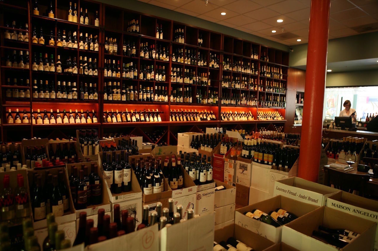 Arlequin's wine selection