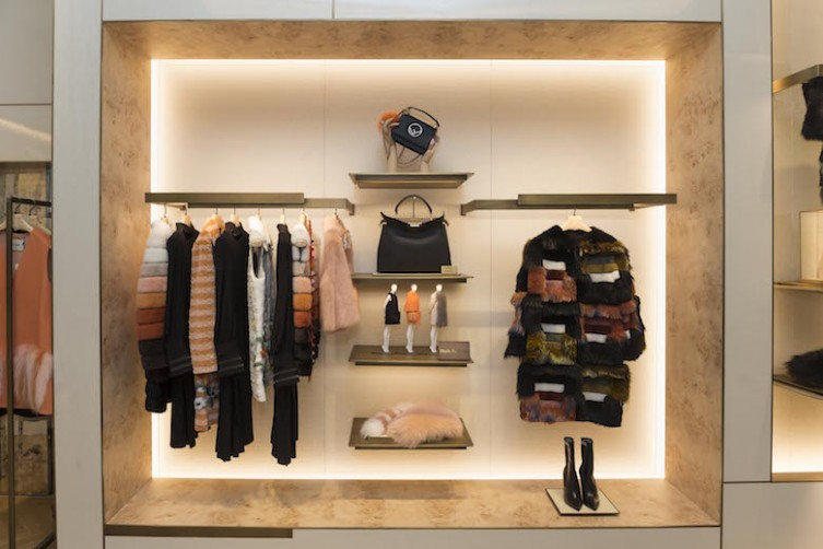 Inauguration of FENDI San Francisco New Boutique and Fendi Experiential ëObsession Roomí