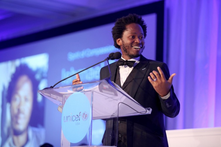 UNICEF Goodwill Ambassador Ishmael Beah To Be Honored At The Inaugural UNICEF Gala San Francisco