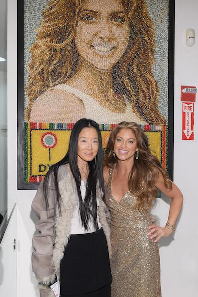 Vera Wang and Dylan Lauren