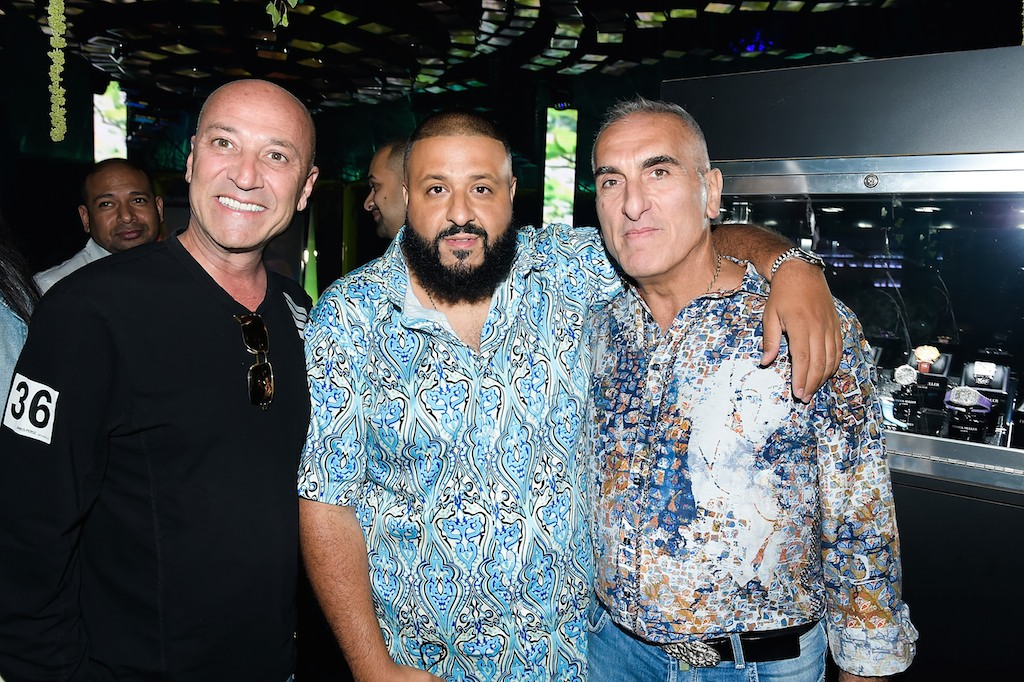 Simon Dahan, DJ Khaled and Hratch Kaprielian