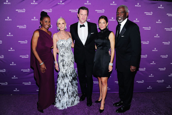 B. Smith, Michele Herbert, Willie Geist, Daryl Simon, Dan Gasby