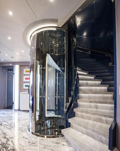 Benetti Seasense Stairs and lift